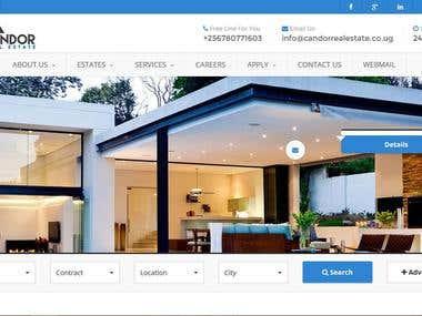 Candor Real Estate Website
