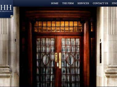 Website for a law firm
