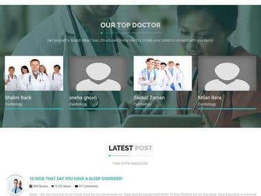 Medical Appointment website