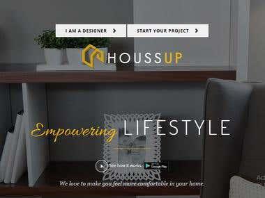 Fully responsive Interior design website