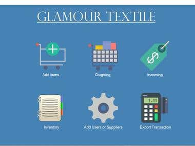POS and Inventory Management for Glamour Textile