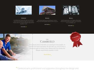 Cambuild Website