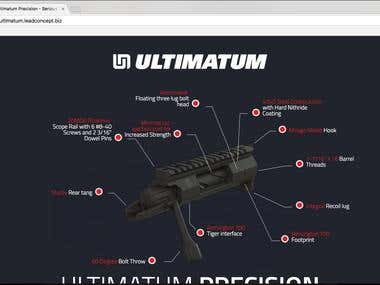 Ultimatum Magento Website