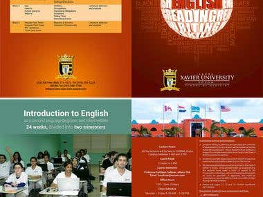 Brochure for an educational institiution