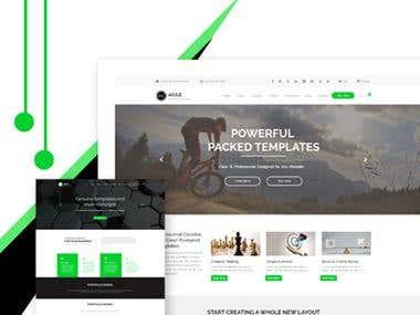 Website layouts