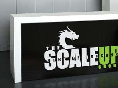 Here Be Dragons - Scale Up Logo Proposal