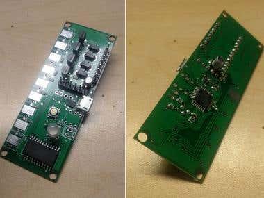 Motor & Sensor Board PCB