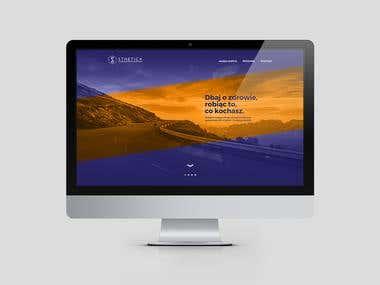WEB DESIGN / sports medicine clinic
