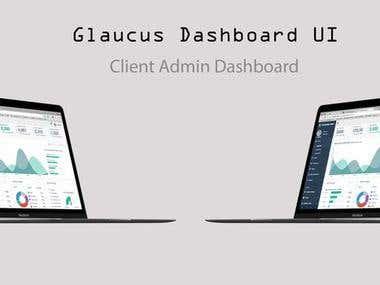 Glaucus UI Web Development