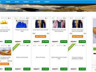 Ecommerce website using wordpress