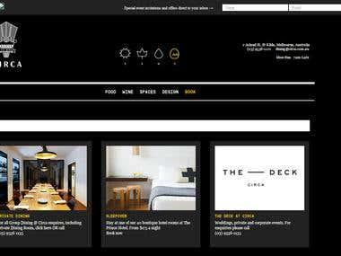 Circa Website