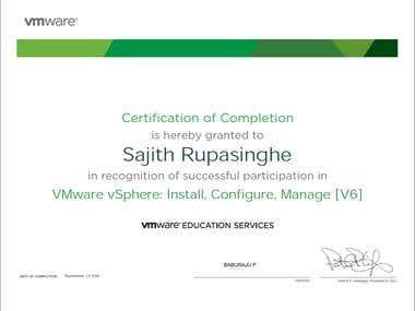 VMware vSphere: Install, Configure, Manage [V6]
