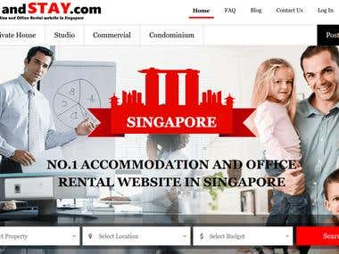 Placeandstay- Property Rental Website