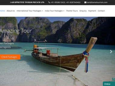 PHP - Wordpress Travel website - iametravel