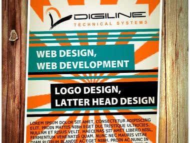 flyer for dijiline