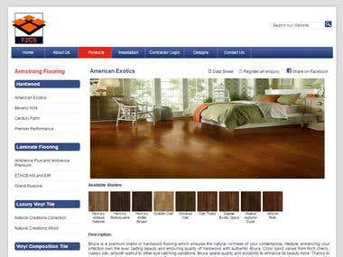 Online Catalog Website Design