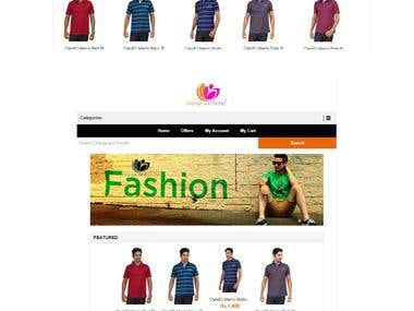 Ecommerce Website (Online Store)