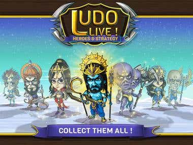 Ludo Live Heroes and Strategy