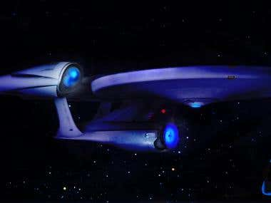 Enterprise art work