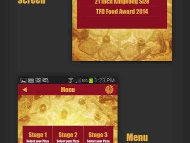 Mobile App | iOS | New York Pizza