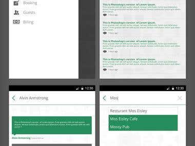 Mobile App | Andriod | Tokeet