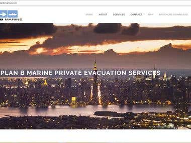 Private Evacuation Service Website