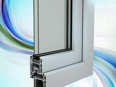 visualization of window profile