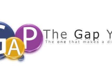 Logo banner design