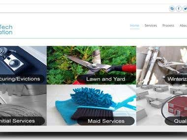 Company Profile Responsive website