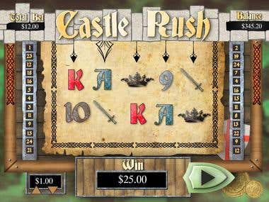 GUI for Gambling Game.