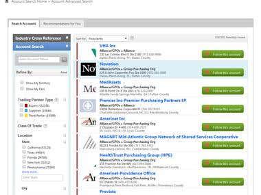 HealthcareSupplyChain OSCAR Lite Web Application
