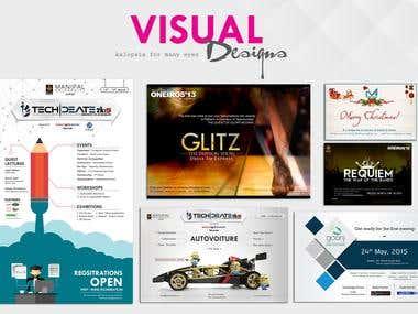 Poster/Visual Designs