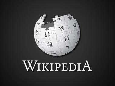 Overall Wikipedia work