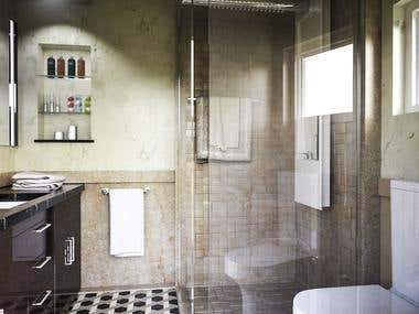 Bathroom internal design....