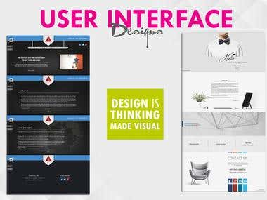 User Interface/ Website Design