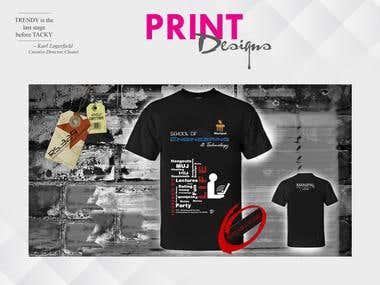 Print Design/T-Shirt Design