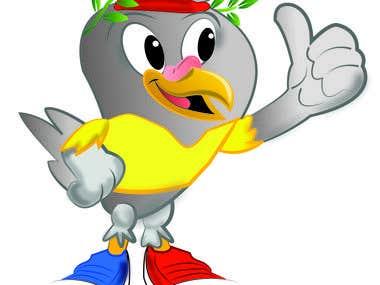 Caricatura para juegos en colombia