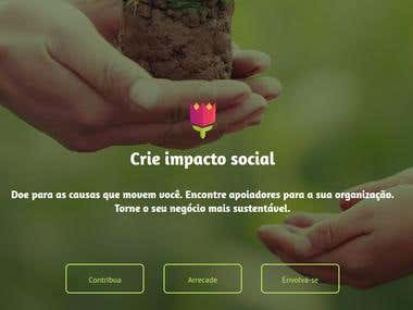Doare - Social Crowdfunding Website