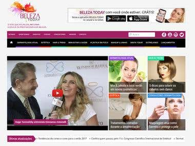 Beleza Today - Brazilian Beauty Website