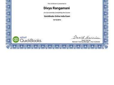 CERTIFICATION-QUICKBOOKS ONLINE EXAM