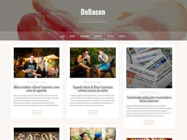 DoBacon - Food Company Website