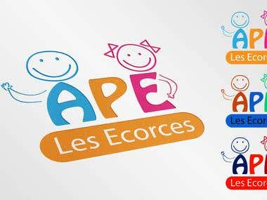logo for the Association of Students of Parents of Ecorces