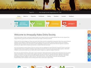 NGO based website