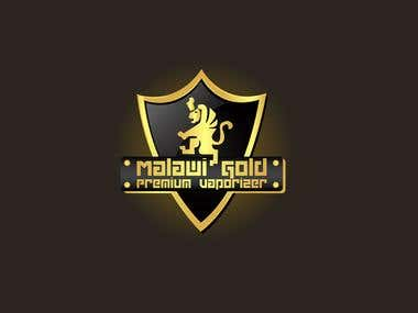 logo design for malwai Gold