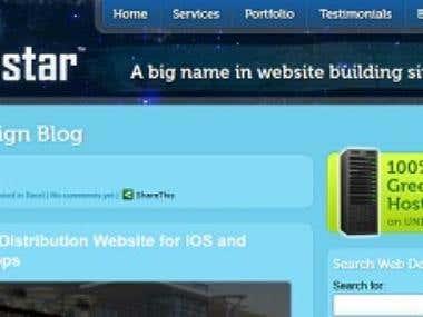 Webdesign Theme