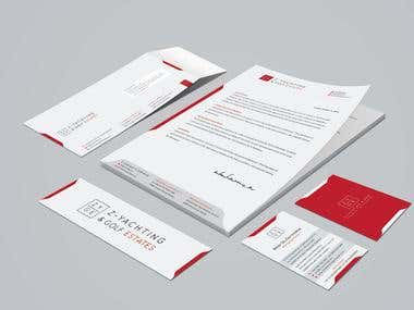 Design Stationary & Business Card
