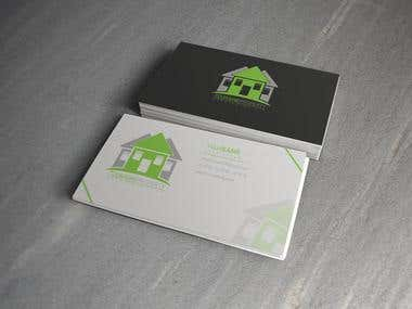Touraine Property Business Card Design