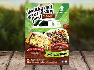 Braveleaf Flyer Design