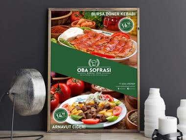 Oba Sofrası poster design / TURKIYE