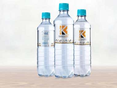 Water Bottle Design for Karachi Grill Restaurant in Dubai